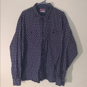 Vintage Wrangler Flannel Shirt